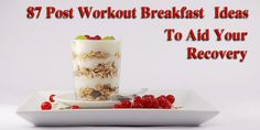 Fuel your muscles after a morning gym workout with one of these incredibly easy, high protein breakfast recipes.