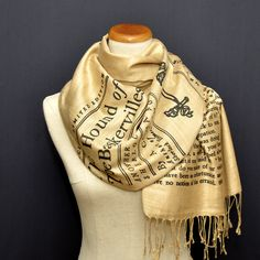 Sherlock Holmes Scarf Shawl Wrap ($39) ❤ liked on Polyvore featuring accessories, scarves, shawl scarves, print scarves, christmas scarves, patterned scarves and wrap shawl