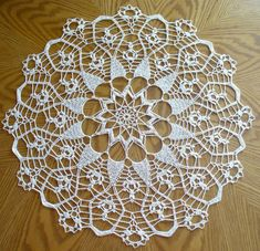 Hey, I found this really awesome Etsy listing at https://www.etsy.com/listing/257081755/handmade-cream-round-crochet-doily