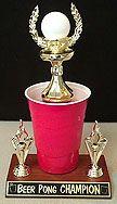 Beer Pong Trophy 3  Overland Park Awards