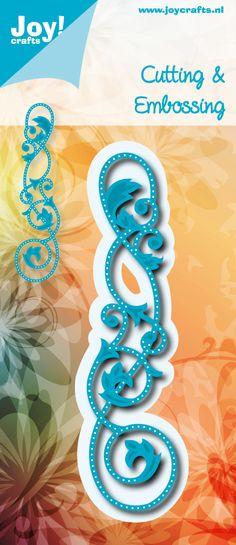 6002/0542 Noor! Design blauw Border open