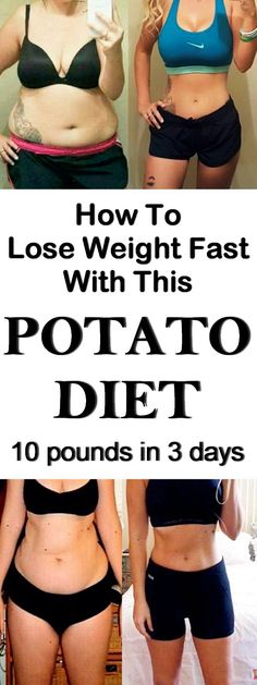 Lose weight with potato diet