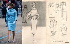 Understanding The Vintage Sewing Pattern - Sewing Method Barbie Vintage, Vintage Vogue, Dress Sewing Patterns, Vintage Sewing Patterns, Pattern Drafting Tutorials, Vintage Dresses, Vintage Outfits, Retro Fashion, Vintage Fashion
