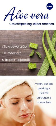 Ihr habt eine Aloe-vera-Pflanze zu Hause? Wir zeigen euch, wie ihr selber Aloe-vera-Gel herstellt und zu DIY-Kosmetik verarbeitet.