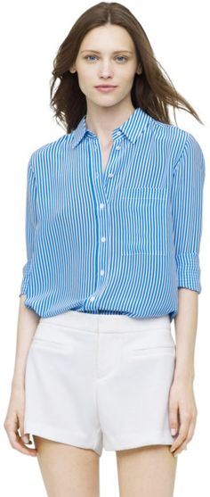 Love this: Taylor Striped Shirt