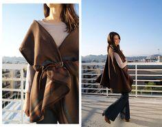 Wardrobe Recycle: DIY Drape Circle Vest