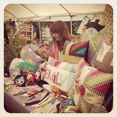 Em Teacup craft fair stall
