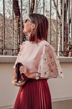spring outfit, midi skirt,cristina surdu