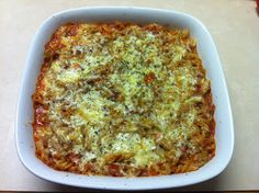 I found a recipe for Tomato Lentil Pasta bake in the TM book ,I have changed it a little as I only had tin lentils not dried at the time i. Lentil Pasta, Pasta Bake, Lasagna, Macaroni And Cheese, Vegetarian, Healthy Recipes, Meals, Baking, Thermomix