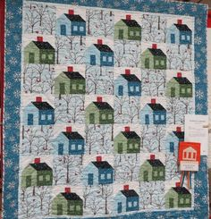 Still looking for this pattern! -- No School, It's a Snow Day by Trudy Kutter