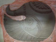 Black clay. Wet. Black Clay, Ceramics, Ceramica, Pottery, Ceramic Art, Porcelain, Ceramic Pottery