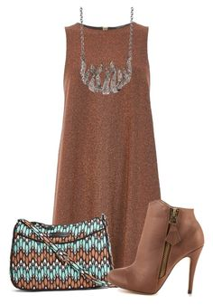 """""""Untitled #9918"""" by nanette-253 ❤ liked on Polyvore featuring River Island, Vera Bradley, Michael Antonio and Garrard"""