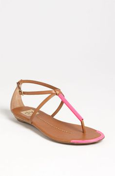 DV by Dolce Vita 'Archer' Sandal - have in gold, turquoise and black. I want in this pink!