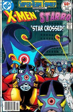 Super-Team Family: The Lost Issues!: The X-Men Vs. Starro