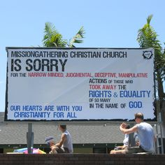 Christians being Christian - wow!
