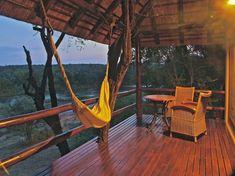 Udsigt over Olifants River fra bushbungalowen