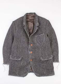 Rebuild by Needles Harris Tweed Rough Out Jacket