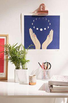 Hanna Barczyk The Moons Art Print