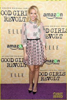 Anna Camp Takes Fans Inside 'Good Girls Revolt' Premiere Screening! Anna Camp, Celebrity Dresses, Celebrity Style, Good Girls Revolt, Pitch Perfect, Famous Women, Looking Stunning, Red Carpet