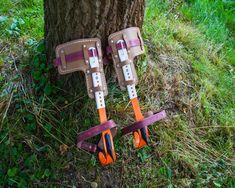 wood pole climber/climbing spikes/climbing shoes