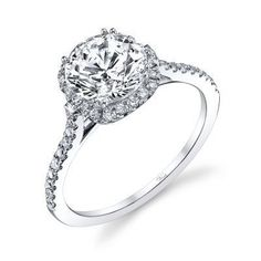 14K White Gold and Diamond Engagement Ring ~ Fine Jewelry & Engagement Rings | Salisbury, MD | Kuhn's Jewelers