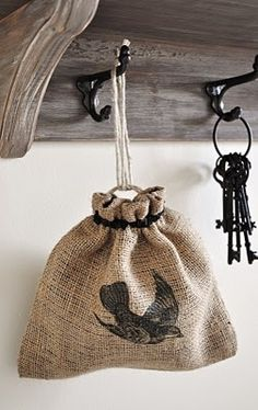 FOUR LARGE SIZE HESSIAN//JUTE SACK BAG GREAT FOR GARDENING OR UPCYCLING PROJECTS