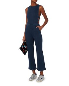 3X1 Tabby Cutout Jumpsuit & Riley Versa Clutch