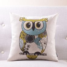 Factory direct high quality pp cotton filled soft owl pillows wholesale