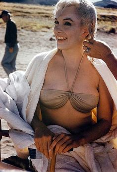 Marilyn Monroe - 1961 - on the set of The Misfits