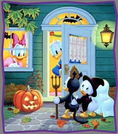 Donald Duck & Daisy - Trick or Treat