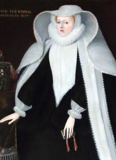 Elizabeth Cooke, daughter of Anthony Cooke, tutor to Edward VI, sister of Mildred Cook, Lady Burghley, and Anne Cooke, Lady Bacon was a highly influential member of Elizabeth I's court.