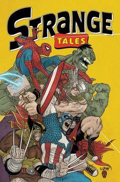 Strange Tales cover by Rafael Grampa