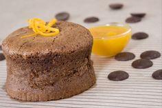Recette de Fondant au chocolat et à l'orange, Petit gâteau au chocolat acidulé qui réveille les papilles.