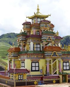 Big Surmang Monastery - Tibet