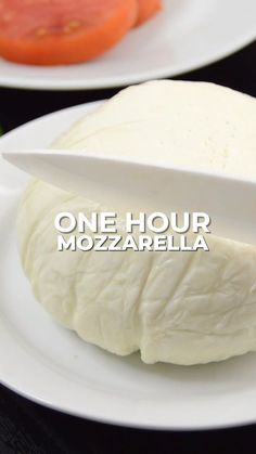 You only need a few basic ingredients to make mozzarella: whole milk, citric acid, and rennet - a special cheese enzyme. It's also handy to have a thermometer; one was provided in the kit I got! Homemade Cheese, Homemade Butter, Homemade Vanilla, Homemade Yogurt, Homemade Sour Cream, Fromage Vegan, Fromage Cheese, How To Make Cheese, Food To Make