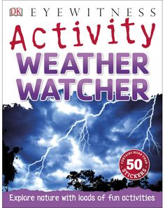 Explore our weird and wonderful weather in Eyewitness Activity Weather Watcher, with more than 30 fun, hands-on activities!Discover t. Hands On Activities, Book Activities, How To Make Snowflakes, Reading At Home, Book Summaries, Weird And Wonderful, Nonfiction Books, Fun Learning, How To Relieve Stress