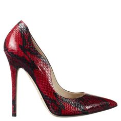 BESAME - Single sole point toe pump with contour detail #BrianAtwood