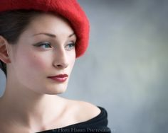The Girl in the Red Beret by hopeimages on Etsy, $30.00