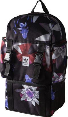 7fdb86b0740d Adidas originals backpack lotus print