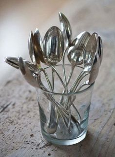 Barefoot Contessa - Easy Tips:   Hotel Silver Cooking Spoons ~