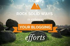 Blogging is definitely become a hot topic over the years and it's something that's NOT going to be going anywhere anytime soon as more and more people and businesses are using blogging today to either promote their voice or their business, and sometimes both. If you are interested in using blogging to get your message [...]