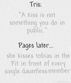Divergent funny I thought this was going to be something about kissing Augustus in the middle of the Anne Frank house