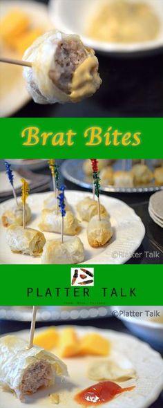 Brat Bites - A Game Day Classic