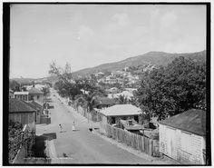 Charlotte Amelia [sic], St. Thomas, U.S. Virgin Islands; c. 1900; Detroit Publishing Co.; Library of Congress  Prints and  Photographs Division Washington, D.C