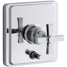 Found it at Wayfair - Pinstripe Rite-Temp Pressure-Balancing Shower Faucet with Diverter and Plain Cross Handle