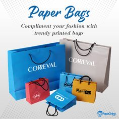 Compliment your fashion with trendy printed bags. #bags #paperbag #fashion #Trending #wholesale #PROMOTION #marketing #Giveaways #branding #giftideas #printed #gifts #advertising #shopping Paper Bags Wholesale, Promotion Marketing, Print On Paper Bags, Promotional Bags, Picnic Bag, Printed Bags, Luggage Bags, Giveaways, Compliments