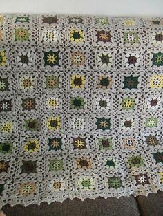 GeHaakt door Marijtje: Patroon gehaakte deken