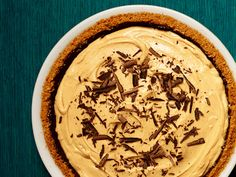 Peanut Butter-Chocolate Pie Recipe : Food Network Kitchens : Food Network - FoodNetwork.com