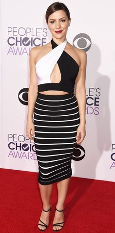 People's Choice Awards 2015: Best of the Red Carpet - Katharine McPhee from #InStyle