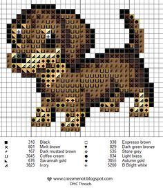 Free Puppy Cross Stitch Pattern